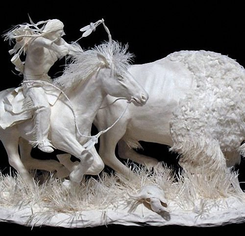 Скульптуры из бумаги Аллена и Пэтти Экман