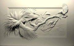 Келвин Николс и его бумажные скульптуры