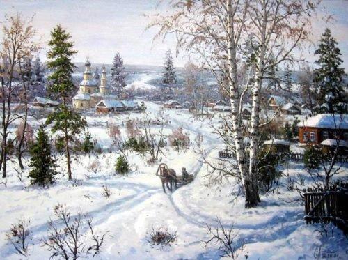 Художник Хананин Сергей Васильевич