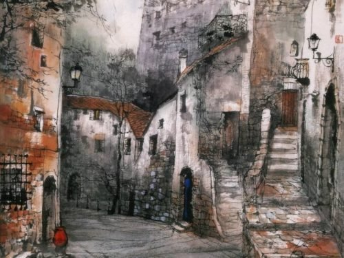 Китайский мастер живописи Liu Maoshan (Лю Маошан)