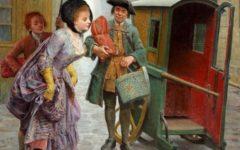 Французский художник Maurice Leloir