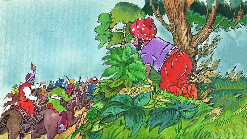 Диафильм Али-Баба и 40 разбойников