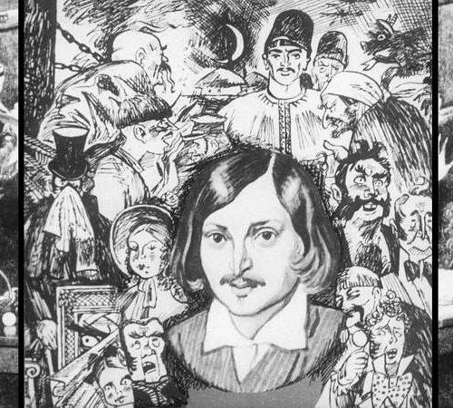 М. Шагал читает Гоголя