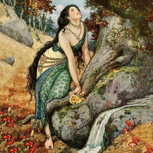 Иллюстратор Frank Cheyne Pape  (1878 - 1972)