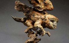 Скульптуры из дерева  Craig Hone