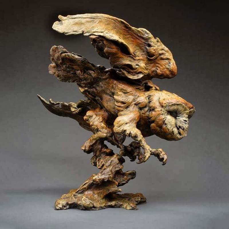 Скульптуры из дерева - Craig Hone