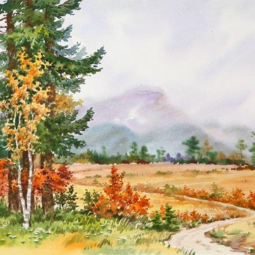 Корейский художник Чан Мин Нам