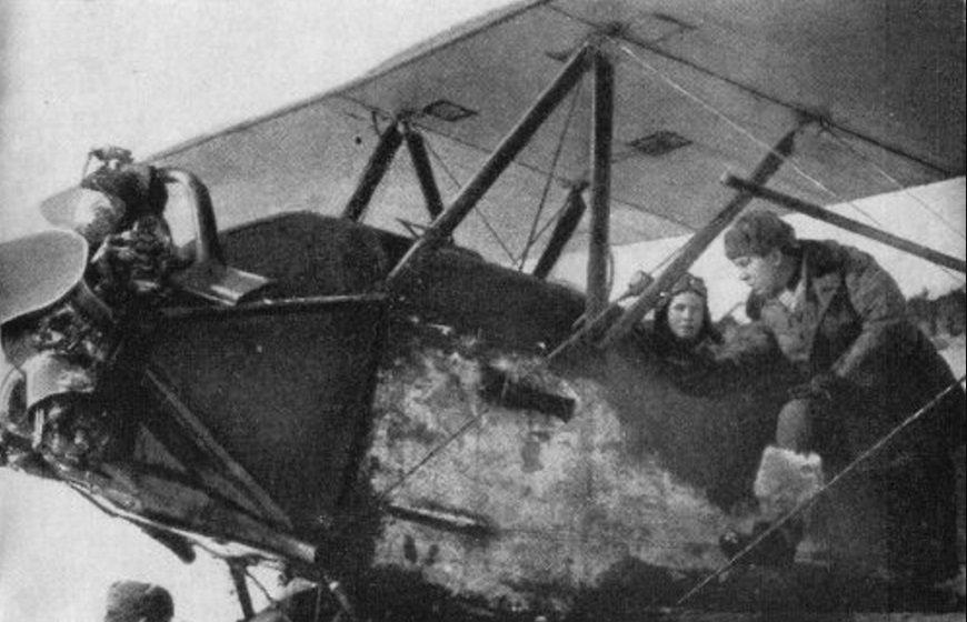инженер эскадрильи Василий Николаевич Рыбин