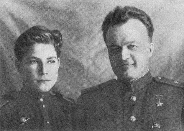 Отец и сын Аркадий Каманин