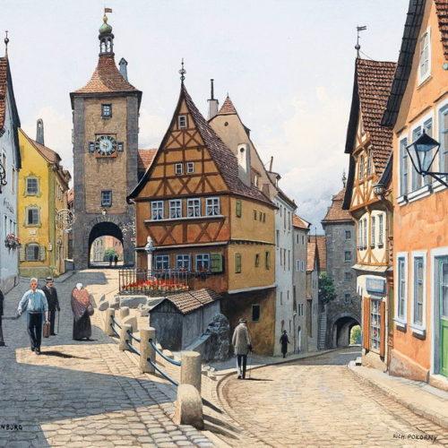 Австрийский художник Richard Pokorny