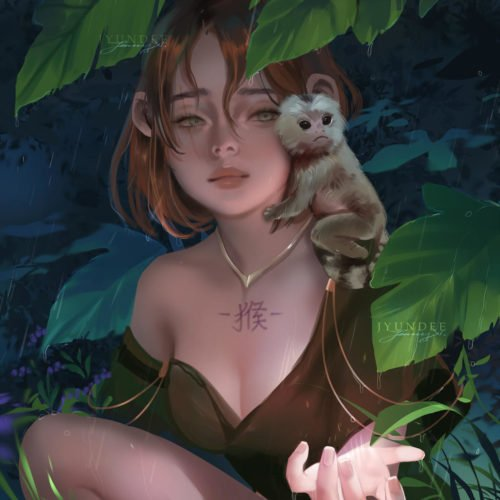 Цифровая живопись от Jyundee