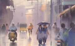 Ejoumale Djearamine — художник-акварелист из Индии