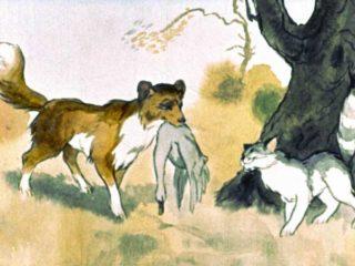 Как кошка с собакой дружить перестали (1959)