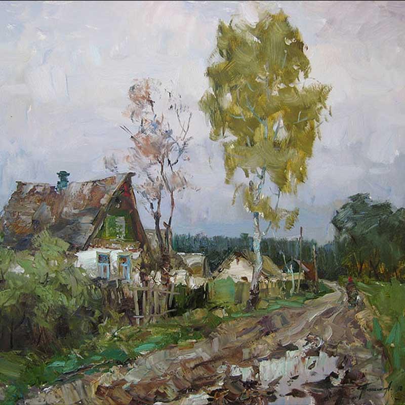 Художник Тюнькин Александр Евгеньевич