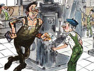 Пьянство и алкоголизм в советской карикатуре. Часть 3.