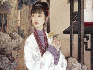 Художник Чжао Гоцзин и его ученица Ван Мэйфан