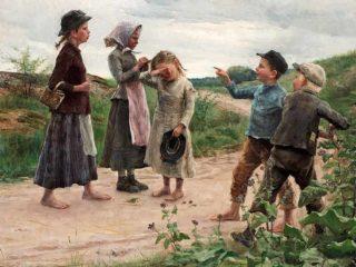 Шведский художник Fanny Brate (1861 – 1940)