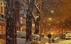 Ричард Савойя (Richard Savoie) и его снежная пастель