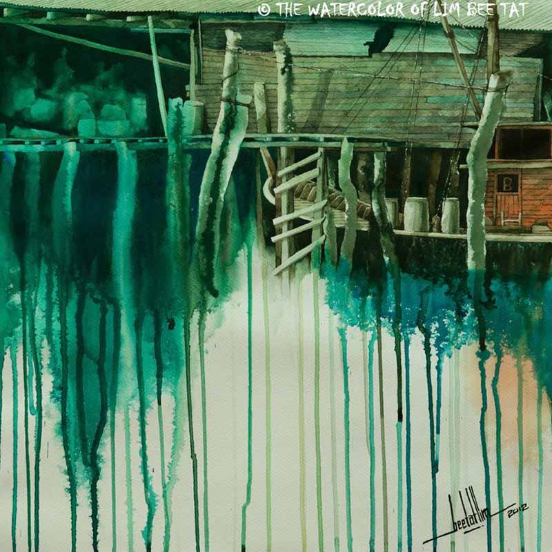 Малайзийский художник-акварелист Bee Tat Lim