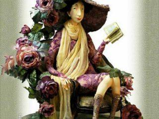 Куклы из глины художницы Ольги Егупец