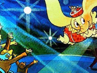 Дамбо - циркач. Часть 2