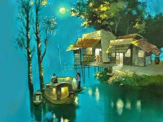Вьетнамский художники Dang Van Can (Данг Ван Кан)