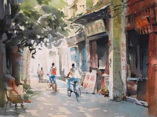 Китайский художник Кван Йюк Панг (Kwan Yeuk Pang)