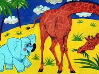 Почему у слона длинный хобот