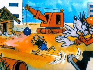 Hase und Wolf - Schauplatz - Bauplatz