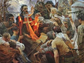 Дипломные работы выпускников Российской академии живописи, ваяния и зодчества Ильи Глазунова
