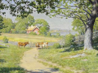 Йохан Кроутен (Johan Krouthen), 1858-1932. Швеция.