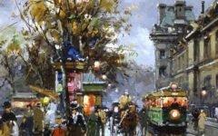 Художник Antoine Blanchard (1910 — 1988) Часть 2
