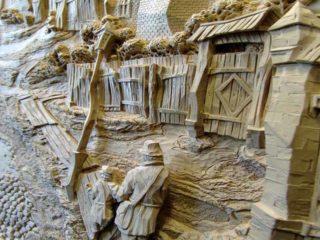 Восхитительные резные картины из дерева семьи Дубовик