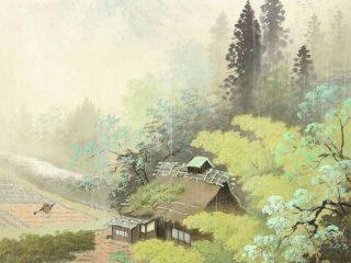Японский художник Кодзима Коукей