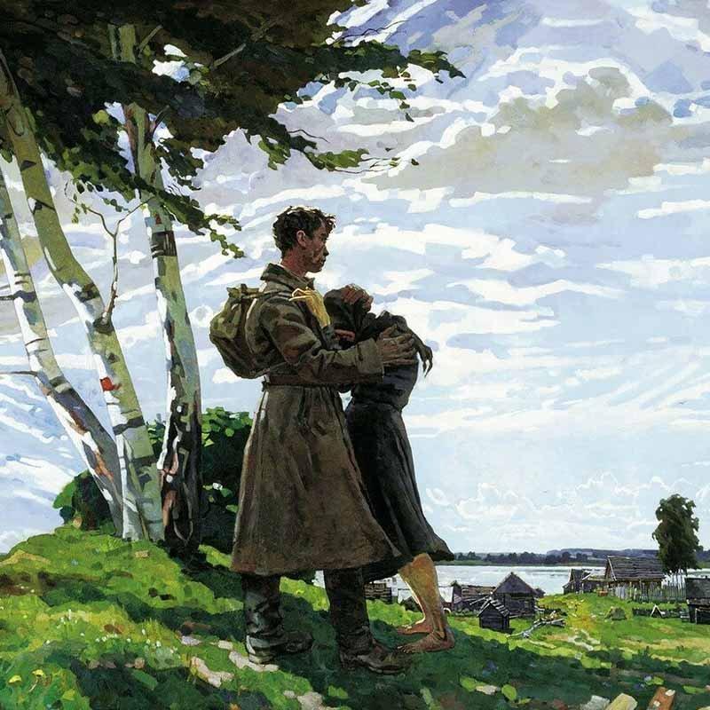 Великая Отечественная война в живописи. Часть 2 56