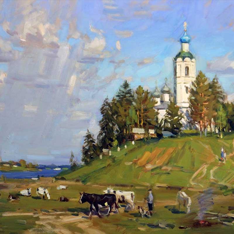 Художник Валерий Николаевич Страхов