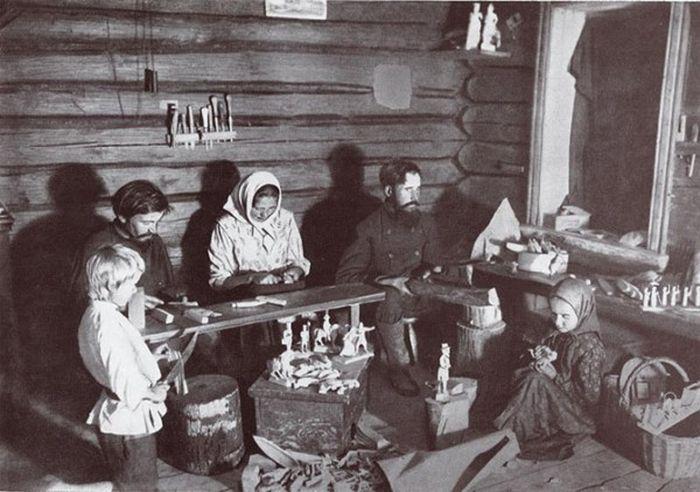 Богородская резьба    История промысла