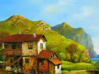 Болгарский художник Boncho Asenov (Бончо Асенов).