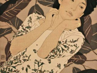 Японский художник Икенага Ясунари (Ikenaga Yasunari)