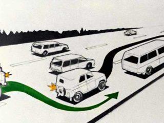 Правила дорожного движения. Расположение транспортных средств на проезжей части. Начало движения. Маневрирование (1983)