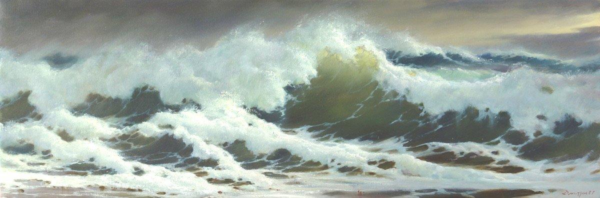 Волна у берега