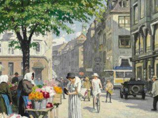 Датский художник Фишер Пауль Густав   Paul Gustav Fischer (1860-1934)  Часть 1