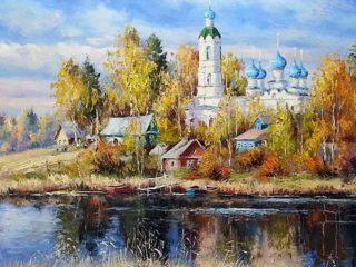 Художник Олег Пятин  | Времена года