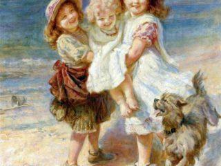 Английский художник Frederick Morgan (1847-1927)