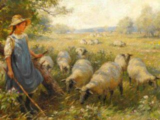 Жюль-Алексис Мюнье - Jules-Alexis Muenier (1863-1942)